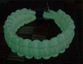 Браслет-веревка флуорисцентный – фото