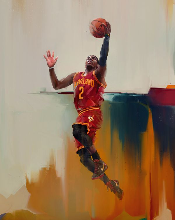 The Kyrie Irving piece made for Rareink, Inc. Limited edition is available at rareink.com