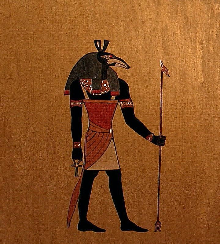 Ancient Egypt Astrological Signs: The God Set (Seth). Represents the Universal Principal of Discipline. God of the Desert.