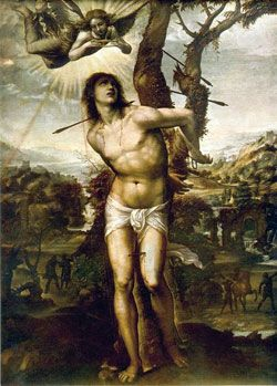 St. Sebastian - Saints & Angels - Catholic Online