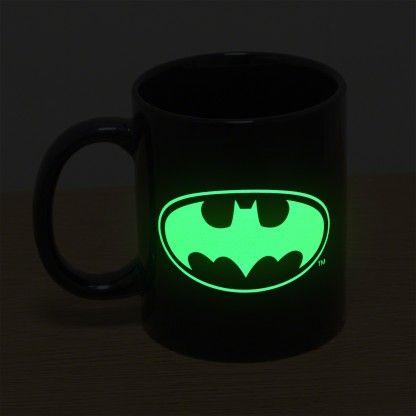 Check out this Batman Glow in the Dark Mug