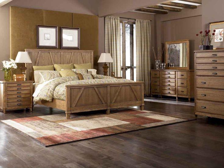 bedroom fancy farmhouse bedroom furniture  design using light oak wood headboard along with cherry solid wood bedroom  flooring and 5 drawer oak wood. bedroom fancy farmhouse bedroom furniture design using light oak