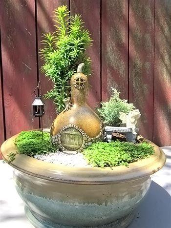 Criando um jardim cheio de fantasia, dicas para enfeitar o verde   Vila do Artesão