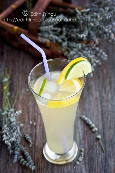 limonada cu lavanda