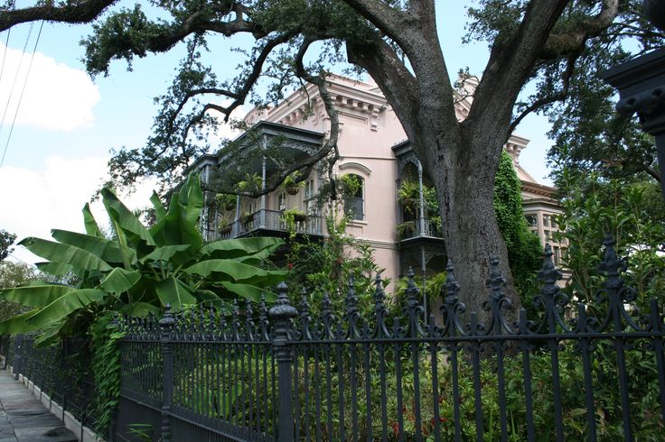 Anne Rice's old house. NOLA