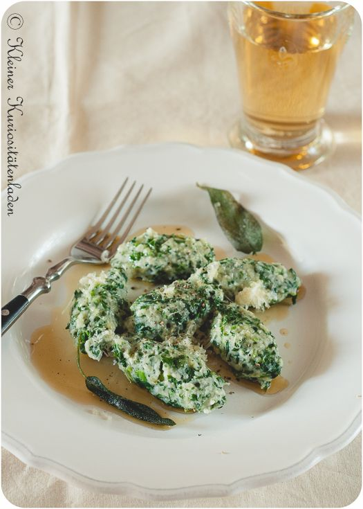 Malfatti ~ Ricotta-Spinat-Klößchen