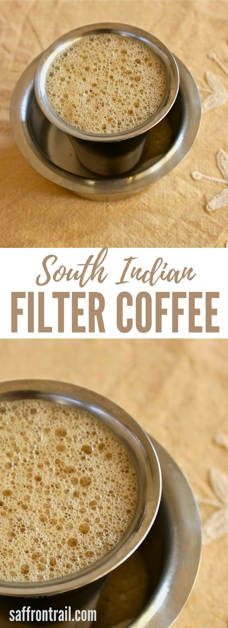 Get the details on equipment, method and video on how to make your cup of filter coffee, because everyone loves a tumbler of piping hot, aromatic and strong filter coffee!