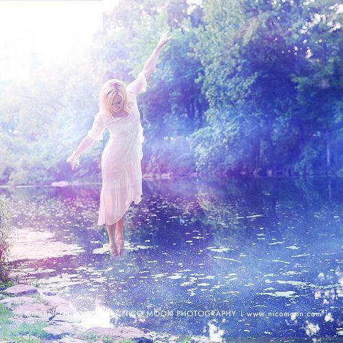Walking on Water. | ©2011 Merrilyn Romen. All Rights Reserve… | Flickr