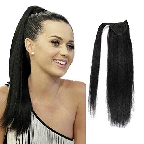 The 25 best ponytail extension ideas on pinterest ponytail with brazilian human hair ponytail clip in ponytails human hair straight pony tail extensions black brown blond alii beauty hair pmusecretfo Image collections