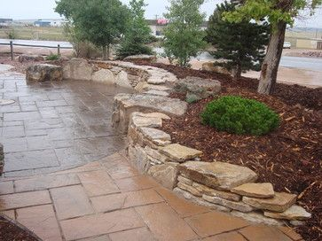 63 best retaining wall ideas images on pinterest   backyard ideas ... - Retaining Wall Patio Design