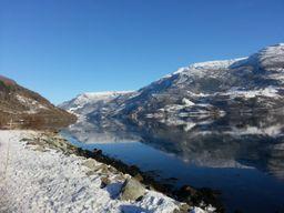 Winter in Hardanger, Norway