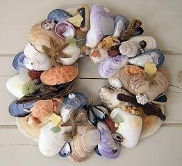 shells wreaths