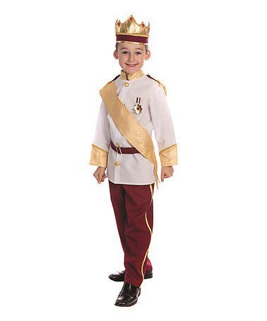 Loving this Royal Prince Dress-Up Set - Toddler & Kids on #zulily! #zulilyfinds