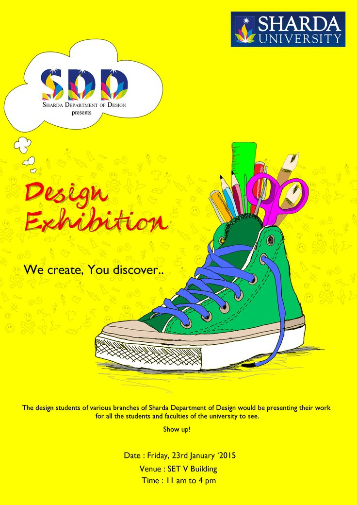 Design Exhibition - Sharda University