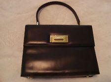 The Leather School ELEGANT butter soft black Italian handbag UNUSED,luxurious