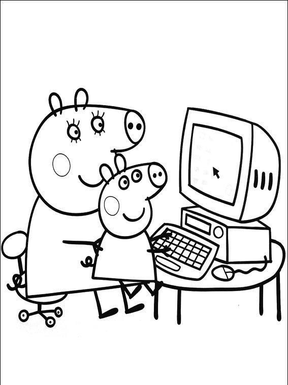 Peppa Pig Party Ideas DIY For Parties Great Link Coloring Pages Loot Table And Much More The Youngest