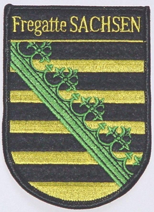 """Patch Aufnäher Fregatte """"Sachsen"""" F219"""