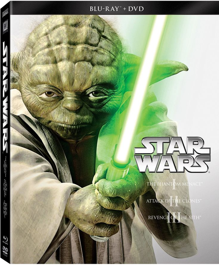 Amazon.com: Star Wars Trilogy Episodes I-III (Blu-ray + DVD) $35