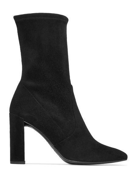 Black MidAnkle Boot