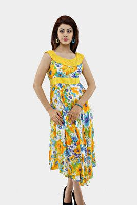 Buy Shakumbhari Women's Dress Online at Best Offer Prices @ Rs. 657/- In India. #Maxi #Dresses #India