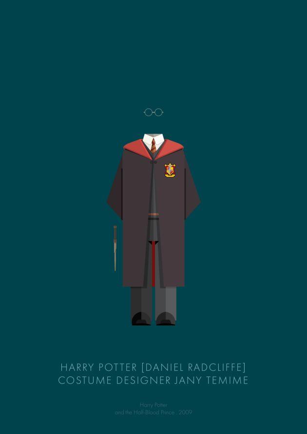 HARRY POTTER  - Frederico Birchal : 100 anni di costumi hollywoodiani