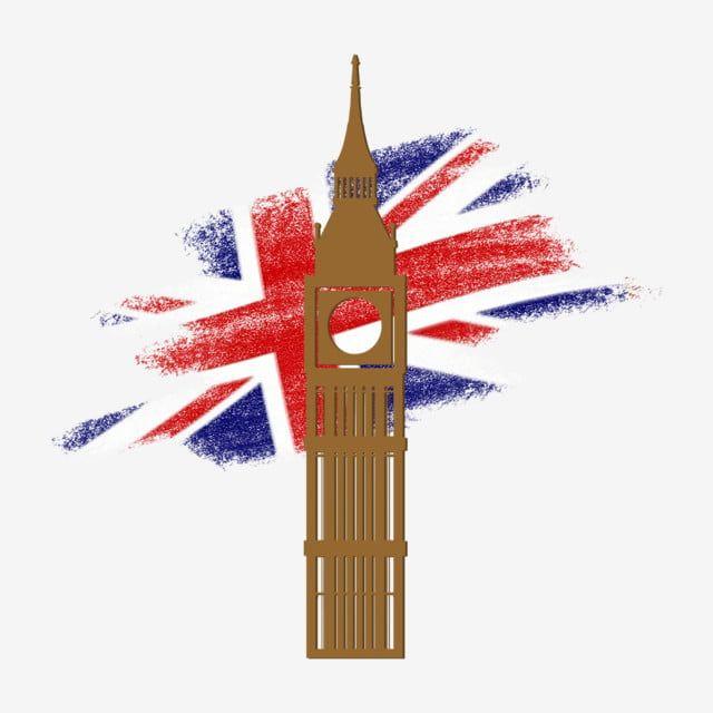 Decorative Style British Big Ben Big Ben British British Flag Png Transparent Clipart Image And Psd File For Free Download British Flag City Silhouette Big Ben