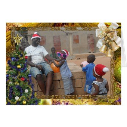 African Christmas Card - Xmascards ChristmasEve Christmas Eve Christmas merry xmas family holy kids gifts holidays Santa cards