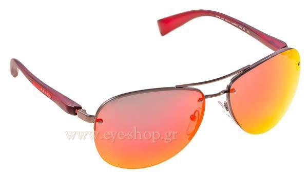 Γυαλιά Ηλίου  Prada Sport 56MS 5AS6Y1 με νέους φακούς καθρέφτη Flash Mirrors Τιμή: 201,00 €
