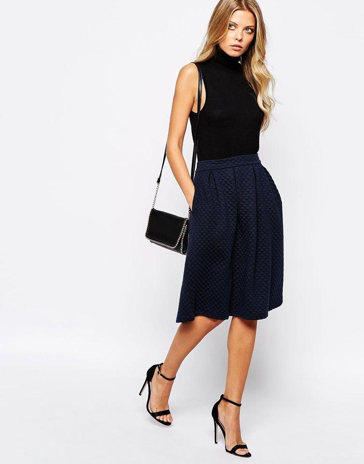 Enlarge Vila A Line Skirt