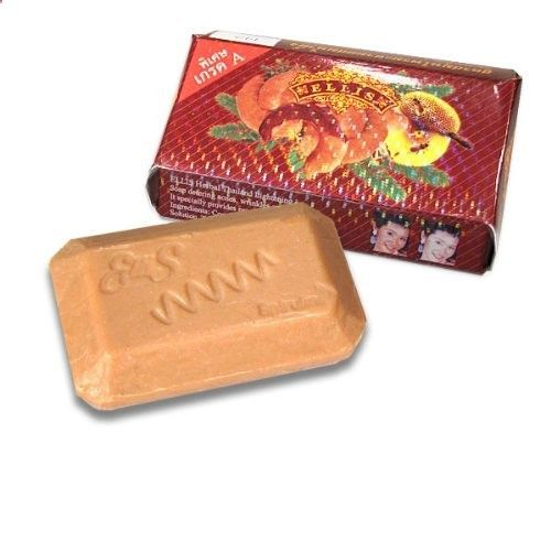 Ellis Anti-Acne AHA Herbal Skin Lightening Soap 150g/5.3oz by Ellis. $4.00. Conatins AHA, Thai tamarind extract, coconut extract and sodium hydroxide. A remarkable combination of anti-acne and skin whitening. A powerful exfoliant and skin whitener. A powerful combination of anti-acne and skin whitening ingredients make this a must-have for women with darker skin and acne problems.