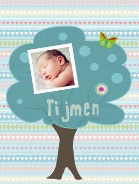 Persbericht: Een zelfgemaakte poster als geboortegeschenk