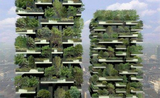 stefano boeri's vertical forest | Stefano Boeri's Vertical Forest Under Construction in Milan ...