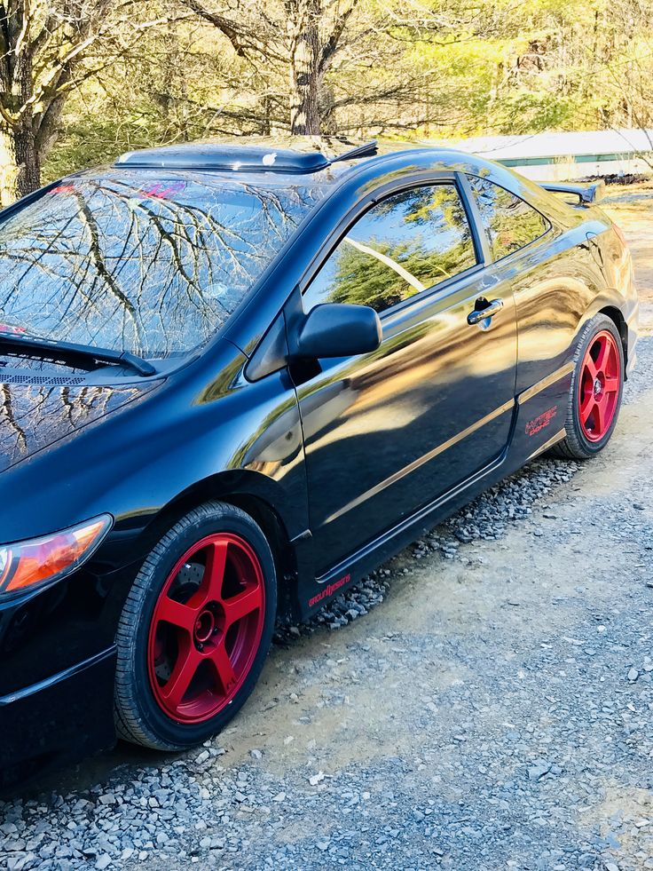 2007 Honda Civic si HFP, all DC sports bolt on parts made. Not sure if it came from factory with all the bolt-ons or the previous owner had it done.  I love it!