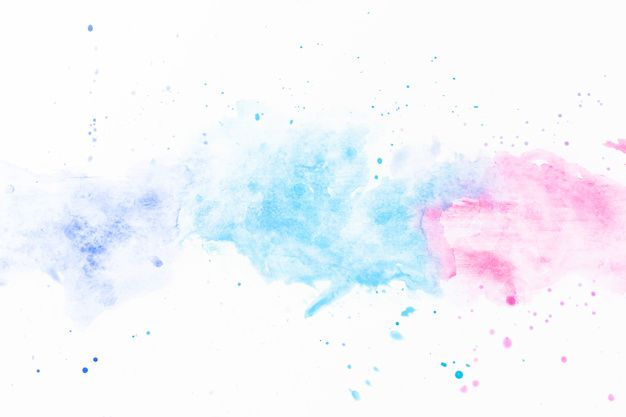 Download Splashes Of Turquoise And Fuchsia Watercolor For Free