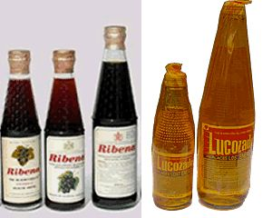 Ribena and Lucozade