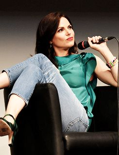 Lana Parrilla at Fairy Tales IV by Xivents, in Paris, June 18, 2016