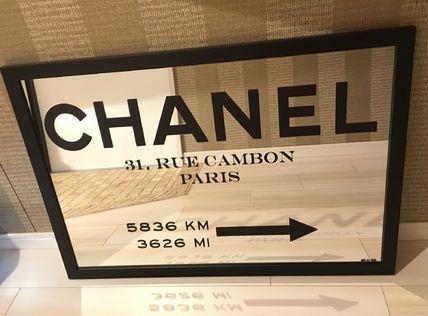 Oliver Gal インテリア雑貨 Oliver Gal 'Couture Road Sign Minimalist 'ミラー鏡(2サイズ)