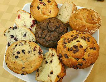 Welk recept voor ei-vrije (veganistische) muffins geeft wél een mooi gerezen resultaat?