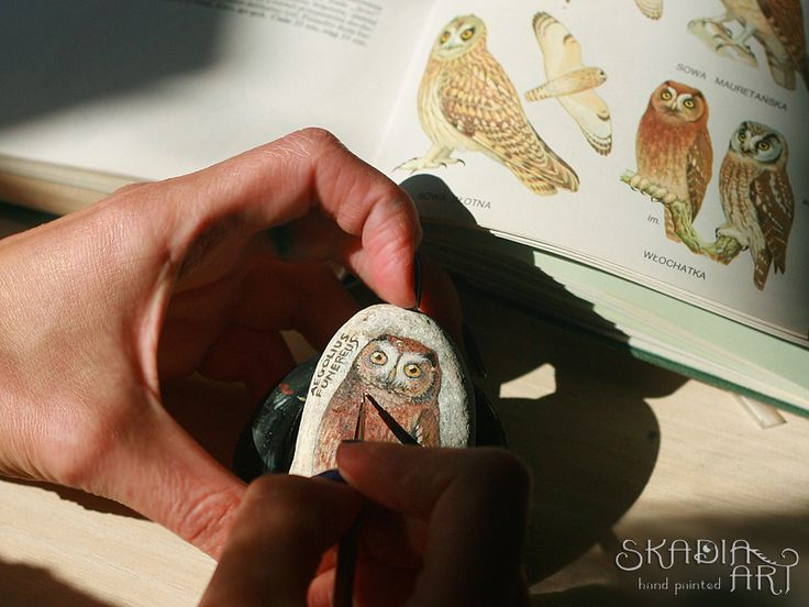 Working on another owl...