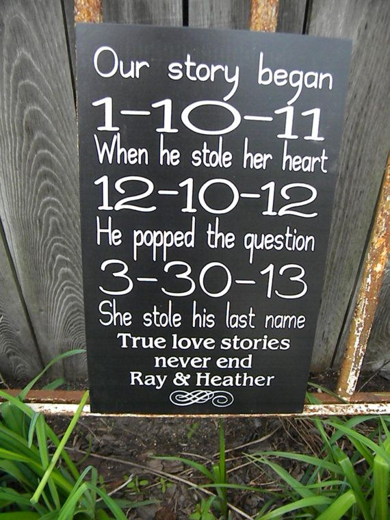 Personalized Engagement Gift Wedding Gift by Timberlinewoodworks, $40.00