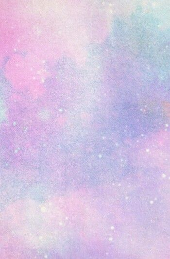 Pretty Pastel Mix Blended Pink Blue Purple Paint In