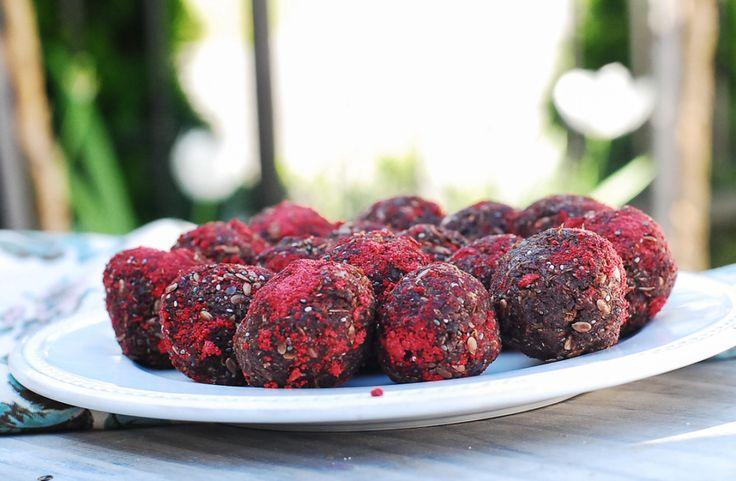 Strawberry Truffles-3