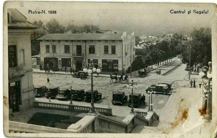 Piatra Neamt - Centru si Regalul - 1938