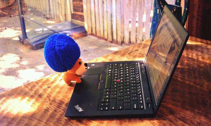 Peluche Lenovo.  www.lenovo.com/ar