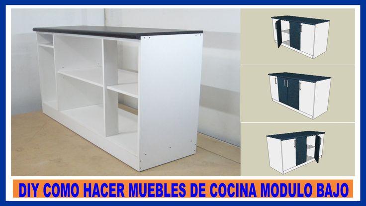 http://www.adagui-diy.com Como hacer un mueble de cocina,mueble bajo de cocina con tableros de melamina,mueble de cocina facil de hacer con placas de melamin...
