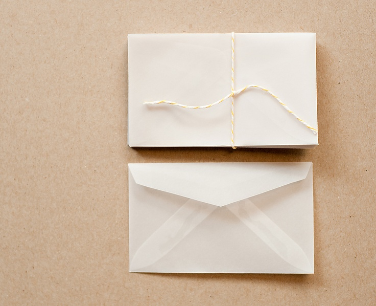 Mini Vellum Envelopes  #StudioCalicoPinToWin