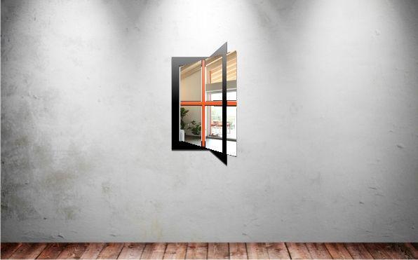 Le miroir personnalisable Fenêtre
