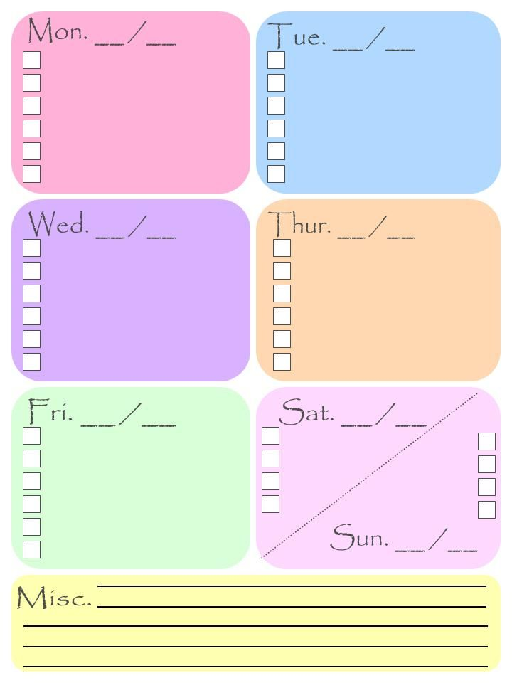 63 best Planner images on Pinterest Free printables, Free - printable office supply list