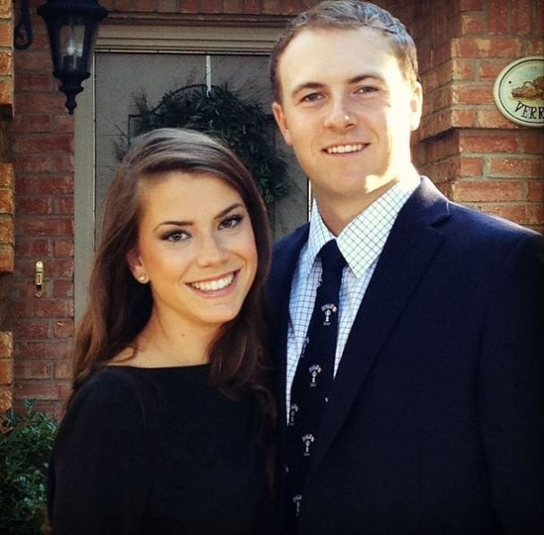 Jordan Spieth, Girlfriend Annie Verret: Golf's Next Power  Couple? (Photos) | Photo Gallery | NESN.com  Jordan's beautiful lady Annie Verret.
