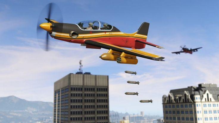 GTA Online's Smuggler's Run update is now live